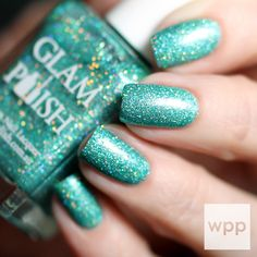 GLAM Polish Limited Edition Mid-Winters Dream Collection Swatches and Review : work / play / polish