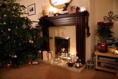 How to Build a Fake Fireplace to Suit Any Budget - Yahoo! Voices - voices.yahoo.com
