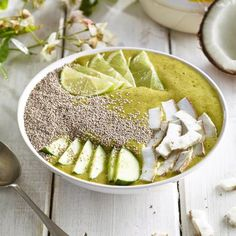 Lime Coconut Smoothie Bowl