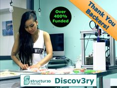 Discov3ry Paste Extruder: Affordable Add-on for 3D Printers's video poster