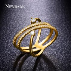 Find More Rings Information about NEWBARK Unique Rings For Women Fashion…