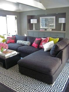 Living Room Colors Gray Couch an accent wall in a room adds a new feeling to a room. instead of