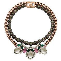 Entrevista con la diseñadora de la firma de joyas Mawi. En la foto, collar de la colección Dynasty Retrospective.
