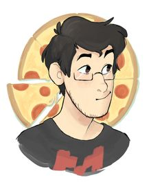 Michelangelo and Markiplier hybrid? *gasp* I NEED TO DRAW THIS! BRB!!! *runs off laughing crazily*