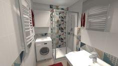 Související obrázek Stacked Washer Dryer, Washer And Dryer, Deco, Mosaic Tiles, Washing Machine, Home Appliances, Bathroom, Interior, Google