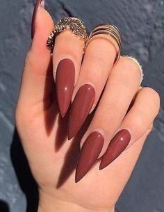 Fresh Red Nail Art Designs Just for You Discover here the Best & Trendy Ideas of Nail Art Designs for those girls and women who have the long nails. Best Acrylic Nails, Acrylic Nail Designs, Nail Art Designs, Nails Design, Acrylic Art, Pointy Acrylic Nails, Pointed Nails, Perfect Nails, Gorgeous Nails