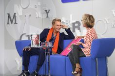 """Wolfgang Joop stellte auf dem Blauen Sofa seine Bücher """"Undressed"""" + """"Objekte der Begierde"""" vor #fbm13"""