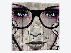 "Specs by Loui Jover Canvas Print 37"" L x 37"" H x 0.75"" D"