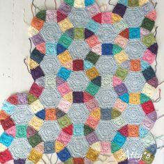 Jack's Chain Crochet Quilt