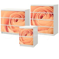 Furniture Sticker PEACH ROSE by Sticky!!! Peach Rose, Wall Murals, Wall Stickers, Canvas Prints, Abstract, Artwork, Furniture, Home Decor, Wall Clings