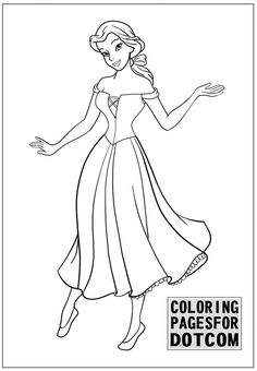 Disney Princess Coloring Pages 1 Is Created By Coloringpagesfor