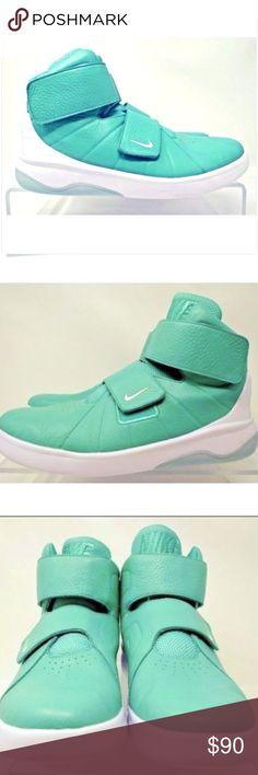 Nike 11.5 Marxman Hyper Jade White Basketball Shoe