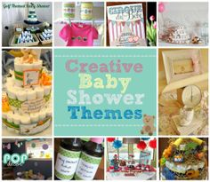 Creative Baby Shower Themes #baby