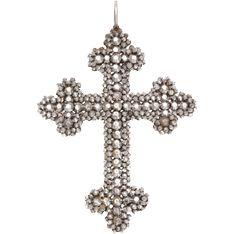Brilliant Light in a Georgian Cut Steel Cross
