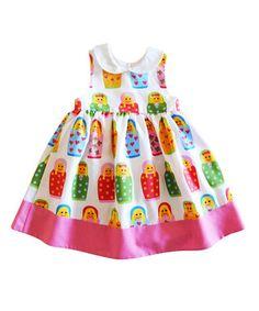 Multi-Colour #RussianDoll Dress - Infant & Toddler