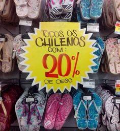 Quando o pessoal do Chile entrou em promoção. | 20 coisas totalmente inexplicáveis que aconteceram nos supermercados do Brasil
