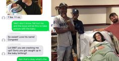 New Mom Texts A Baby Announcement To The Wrong Number And Gets An Amazing Surprise In Return