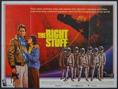 Right Stuff, The (1983) - Original British Quad Movie Poster