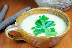Krémová polévka z černého kořene