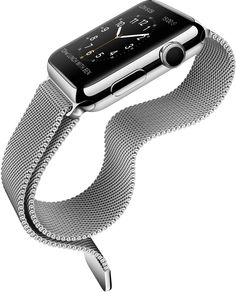 The Apple Watch debuted today, who knew? The Apple Watch (nope, not the 'iWatch') was presented with great fanfare, yes even by 'traditional' watch Wearable Device, Wearable Technology, Smartwatch, Apple Watch Price, Ipod, New Iphone 6, Apple Iphone, Macbook, Accessoires Iphone