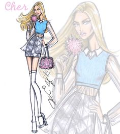 Clueless collection by Hayden Williams: Cher Horowitz