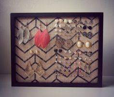 DIY Earring Holder Ideas | DIY Organization Ideas For A Clutter-Free Life