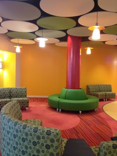 Color Wash, Fixate and Theory 2.0 were selected for this Baystate Pediatric Specialty Center installation in Springfield, MA.