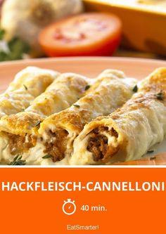 Hackfleisch-Cannelloni - smarter - Zeit: 40 Min.   eatsmarter.de