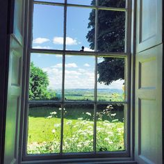 Today's desk view #viewfrommydesk #thehatchseend #englishhouses #englishgardens #countryhouses #countrygardens #summer #georgianhouses