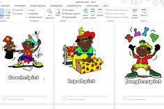 36 prenten van verschillende soorten Zwarte Pieten! Allemaal te verkrijgen via annelies-lauwers@hotmail.com