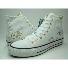 45e7117d517 Converse Leather Sneakers Hi White Mouse Print Hot Sale