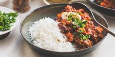 chili2 Chana Masala, Ethnic Recipes, Comfortfood, Chili Con Carne, Salad