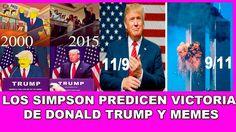 Los Simpson Predicen  Victoria de Donald Trump, y  Memes