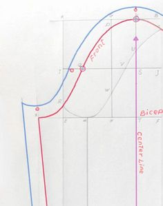 How to Measure for Set-In Sleeve Block Pattern. It's more than just bicep circumference.