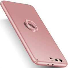 >> Click to Buy << for Huawei P 10 Plus Phone case funda capa Finger Grip Ring Holder Rubberized PC Hard Cover for Huawei P10 Plus-Rose Gold #Affiliate