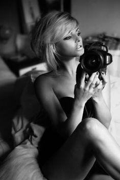 women with cameras | Lara Jade – Self Portraits | Cherish