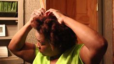 Quick Protective Style for Natural Hair