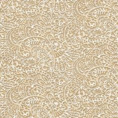 """York Wallcoverings Risky Business 27' x 27"""" Paisley 3D Embossed Wallpaper Color:"""