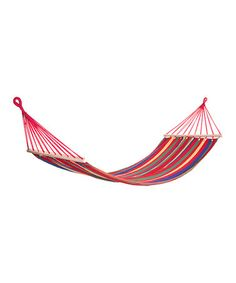 Take a look at this Red Rainbow Hammock on zulily today!