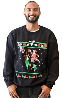 Snowtorious Funny & Ugly Christmas Sweater Fun