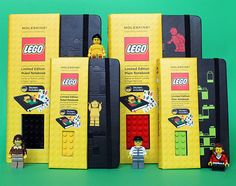 Kids would love recording their ideas in these LEGO Moleskin notebooks! Plain Notebook, Moleskine Notebook, Moleskine Store, Big Kids, Kids Fun, Notebooks, Journals, Stuff To Buy, Cool Stuff