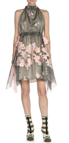 de11f2ff0d5c4 Ted Baker London Glenis Hanging Gardens Print Skirt ( 315) ❤ liked on  Polyvore featuring skirts
