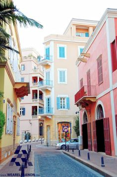 The colorful #Beirut ألوان #بيروت  By Azlan Hashim #WeAreLebanon #Lebanon