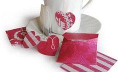 Decorate tea bags