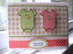 Bitty Blessing Twins KJ by kerryj106 - Cards and Paper Crafts at Splitcoaststampers