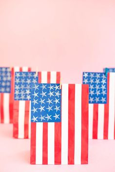 4th of July Favor Bags | Oh Happy Day!