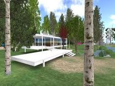 Second Life Farnsworth House
