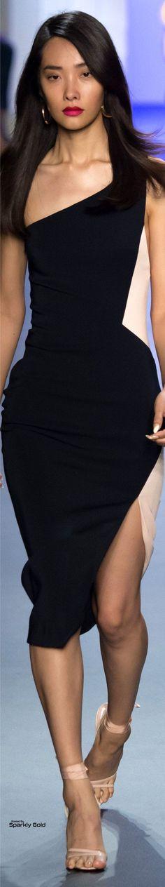 @roressclothes clothing ideas #women fashion black dress Cushnie et Ochs Spring 2017
