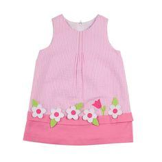 5f17a54b124 Seersucker w  Floral Appliques. SeersuckerSpring 2014AppliquesFlorenceGirls  DressesFansLadies HandbagsKids FashionFusion Extensions · ADRIAN  EASTFlorence ...