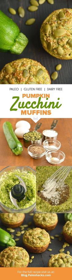 Sneak in some veggies with breakfast and whip up these Savory Pumpkin Zucchini Muffins! Get the recipe here: http://paleo.co/pumpkinzucchinimuffins